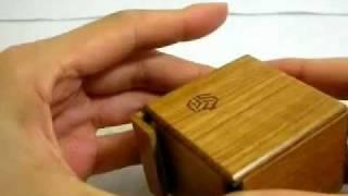 Japanese Puzzle Box/the Solution Of Karakuri Secret Box/ Krakuri Small Box/trad Japan
