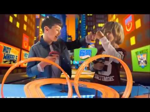 KidzTech Hot Wheels Slot Racing Tracks