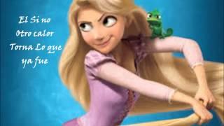 Rapunzel Brilla linda flor (Letra)