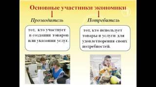 Презентация Экономика и её участники