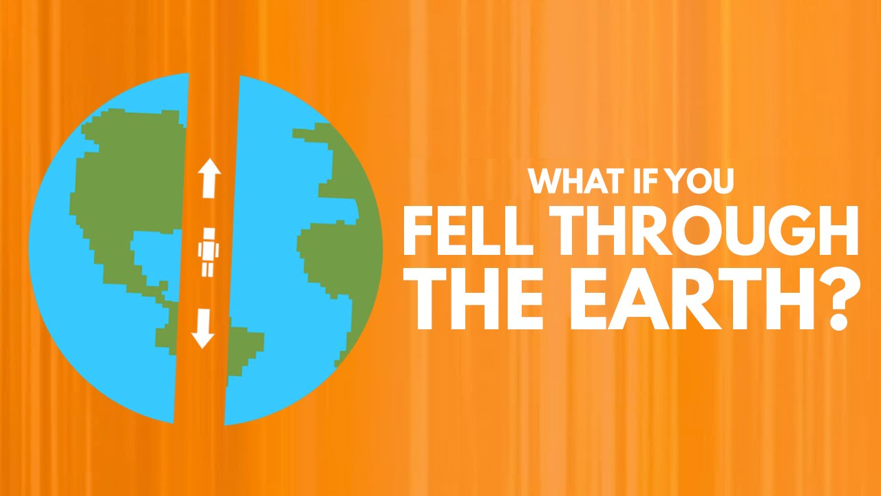 How Long Would It Take To Fall Through The Earth? - YouTube