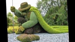 Красивые  зоо клумбы Топиарные цветники(, 2016-02-03T10:38:09.000Z)