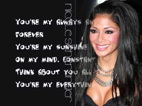 Nicole Scherzinger Ft. Will.I.Am - Baby Love - Lyrics