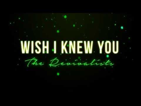 The Revivalists - Wish I Knew You (full tilt mix)