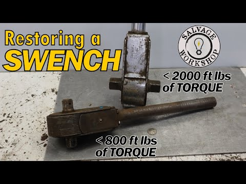 Ever Heard Of A SWENCH? ~ RESTORATION ~ Massive NUT Smacking Ability, In The Palm Of Your Hand!