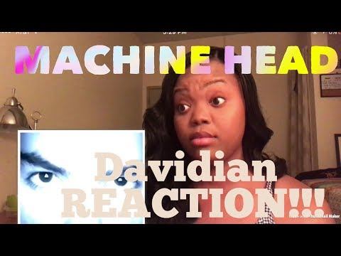 Machine Head- Davidian REACTION!!!