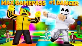 Max Gamepass Tofuu Vs #1 Player Marshmello (roblox Dancing Simulator)