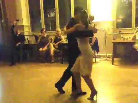 Lorena Ermocida à Tango Genève - accompagnée par Claudio Blanc - 2013
