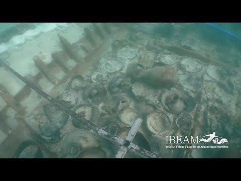 1700 лет под водой: в Испании нашли затонувший корабль с римскими амфорами