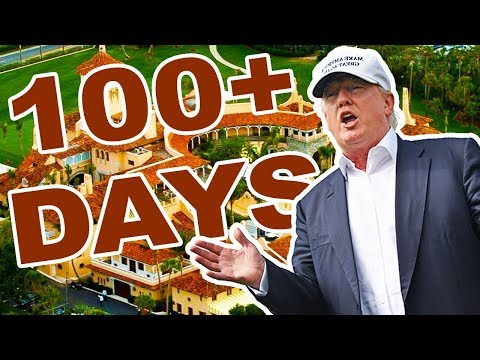 Trump Visited Properties More Than 100 Times