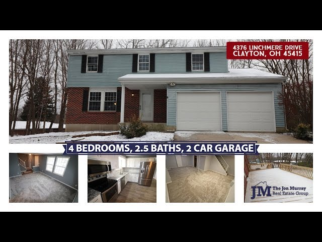 4376 Linchmere Dr Clayton OH 45415 - So much space in this amazing, updated home!