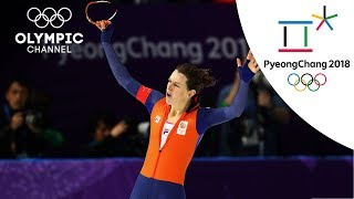 Ireen Wust's Speed Skating Highlight | PyeongChang 2018