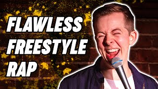 Freestyle rapper STUNS crowd