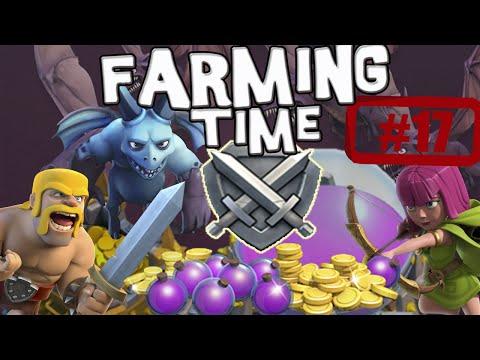 ¡¡FORRÁNDOME!!   Farming Time   Descubriendo Clash of Clans