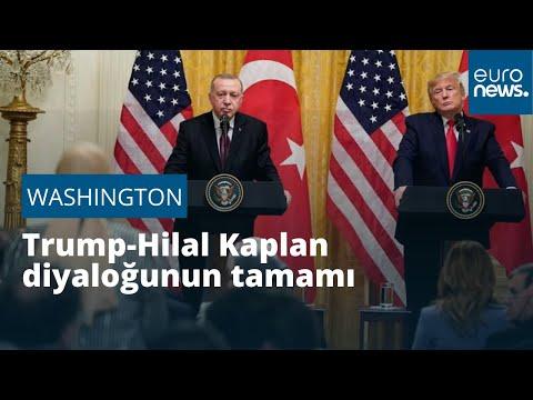 'Siz gazeteci olduğunuza emin misiniz?' Donald Trump - Hilal Kaplan diyaloğunun tamamı