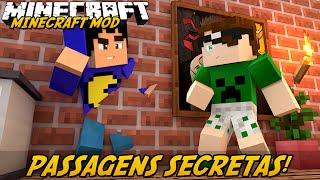 Minecraft Mod: PASSAGENS SECRETAS! (Misture Blocos. Portas Automáticas // MalisisDoors Mod) thumbnail