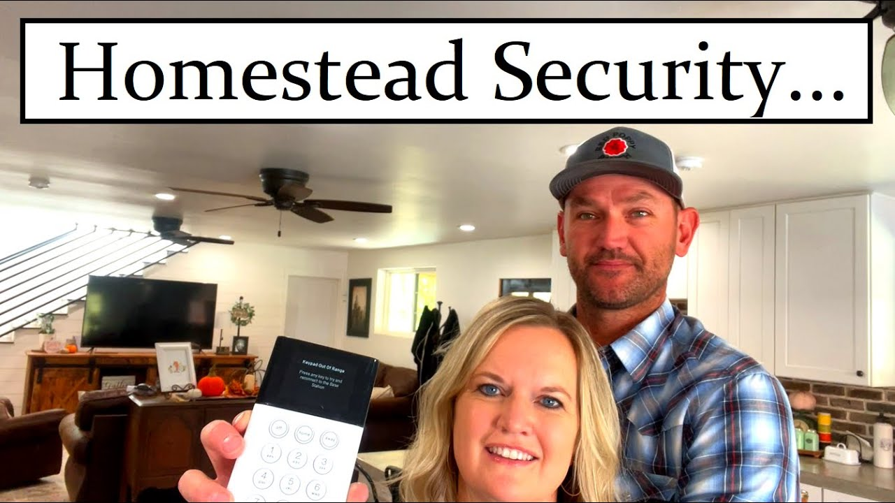 #517 - Upgraded Homestead Security System, Using Goats To Clear Land!