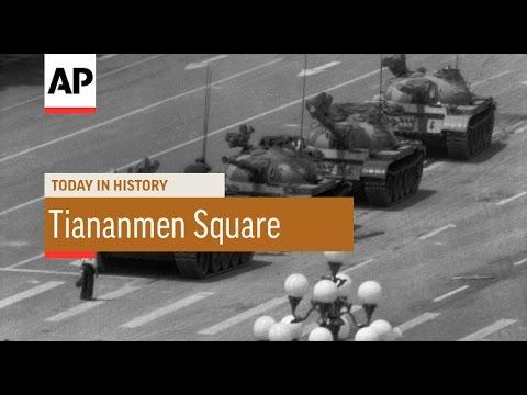 Tiananmen Square Massacre - 1989 | Today in History | 4 June 16