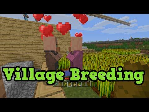 minecraft-xbox-360-/-ps3---tu31-npc-villager-breeding-tutorial