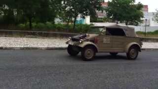 Volkswagen Kübelwagen (1944) do Museu do Caramulo passeia por Lisboa