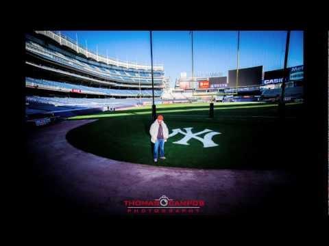 John Brackett Photo Shoot in Yankee Stadium w/Photographer Thomas Campos