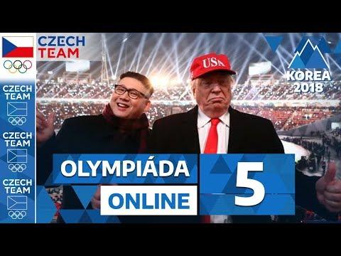 Trump & Kim, naháč, jednotná Korea i Bohyně Samková | Olympiáda online