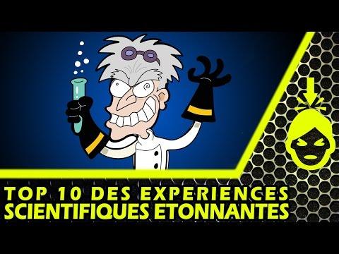 10 EXPÉRIENCES SCIENTIFIQUES ÉTONNANTES