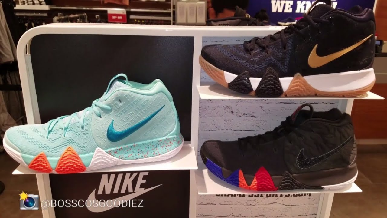 9cad0375f2f8 CHAMPS SPORTS WAS FILLED WITH SNEAKER HEAT ( NIKE KYRIE 4
