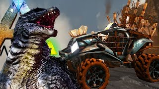 Ark Survival Evolved - NEW EPIC EXPANSION! MAD MAX & GODZILLA COMBINED! - Ark Gameplay