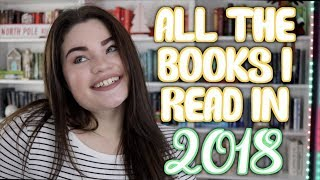 ALL THE BOOKS I READ IN 2018