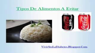Lista rapida de alimentos buenos para la diabetes viyoutube - Alimentos diabetes permitidos ...