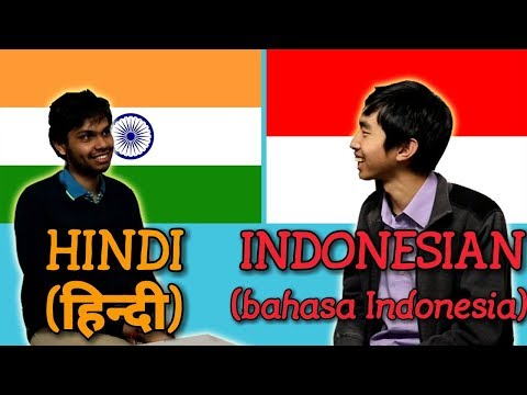 Similarities Between Hindi and Indonesian