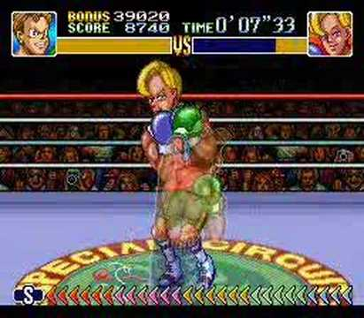 Super Punch-Out! Narcis Prince KO in 0'08'46