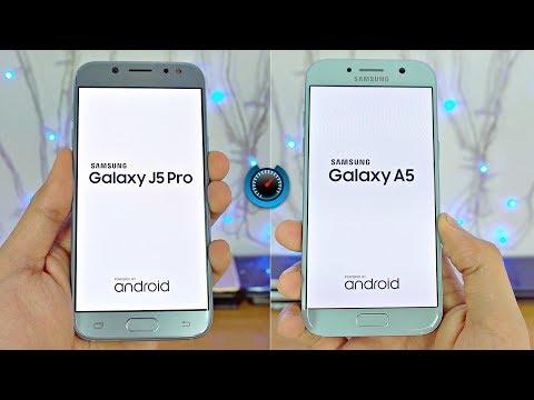 Samsung Galaxy J5 Pro (2017) vs A5 (2017) - Speed Test! (4K)