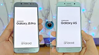 Samsung Galaxy J5 Pro (2017) vs A5 (2017) - Speed Test! (4K)