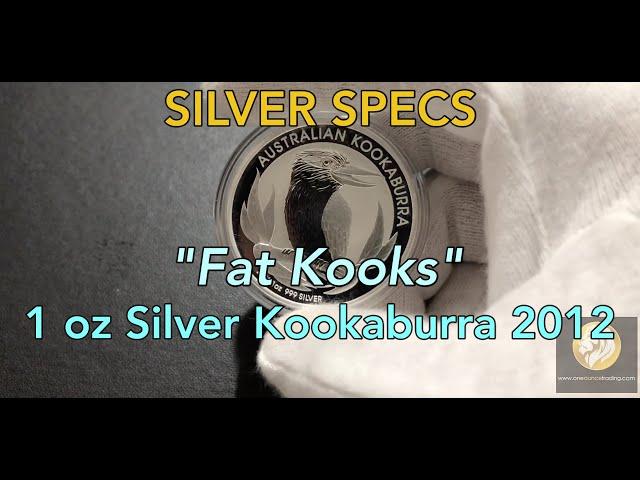 SILVER SPECS - 1 oz Silver Kookaburra 2012