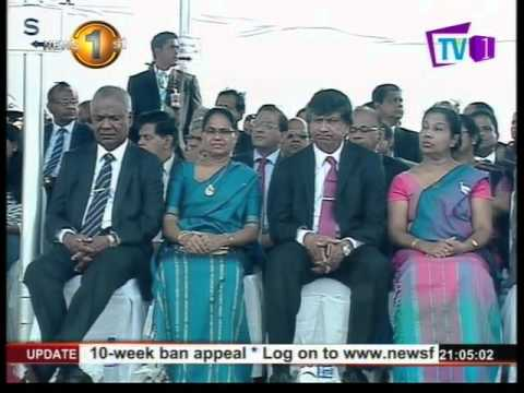 Sri Lanka celebrates 68th independence day with much pomp and ceromony