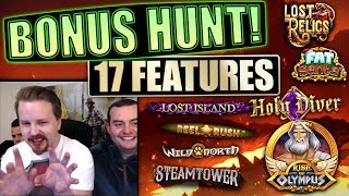 Bonus Hunt #5 - Result from 17 features