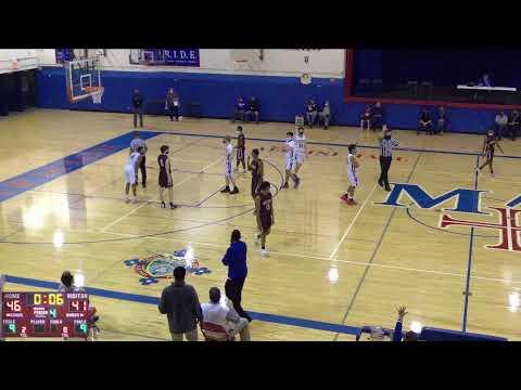 Marmion Academy vs. Saint Ignatius Sophomore Mens' Basketball