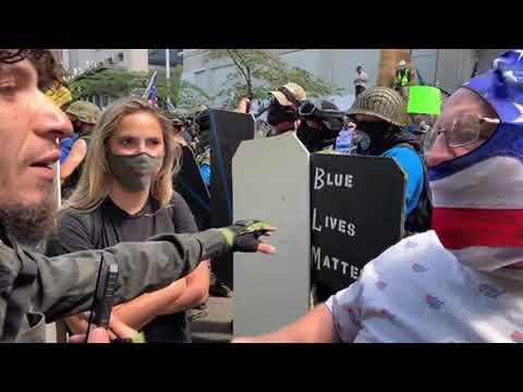 Live- Patriot Rally Portland, Or Justice Center