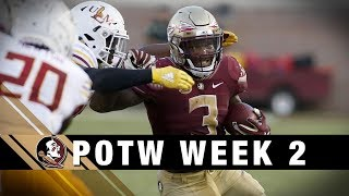 ACCDN Player Of The Week Wk 2: FSU RB Cam Akers