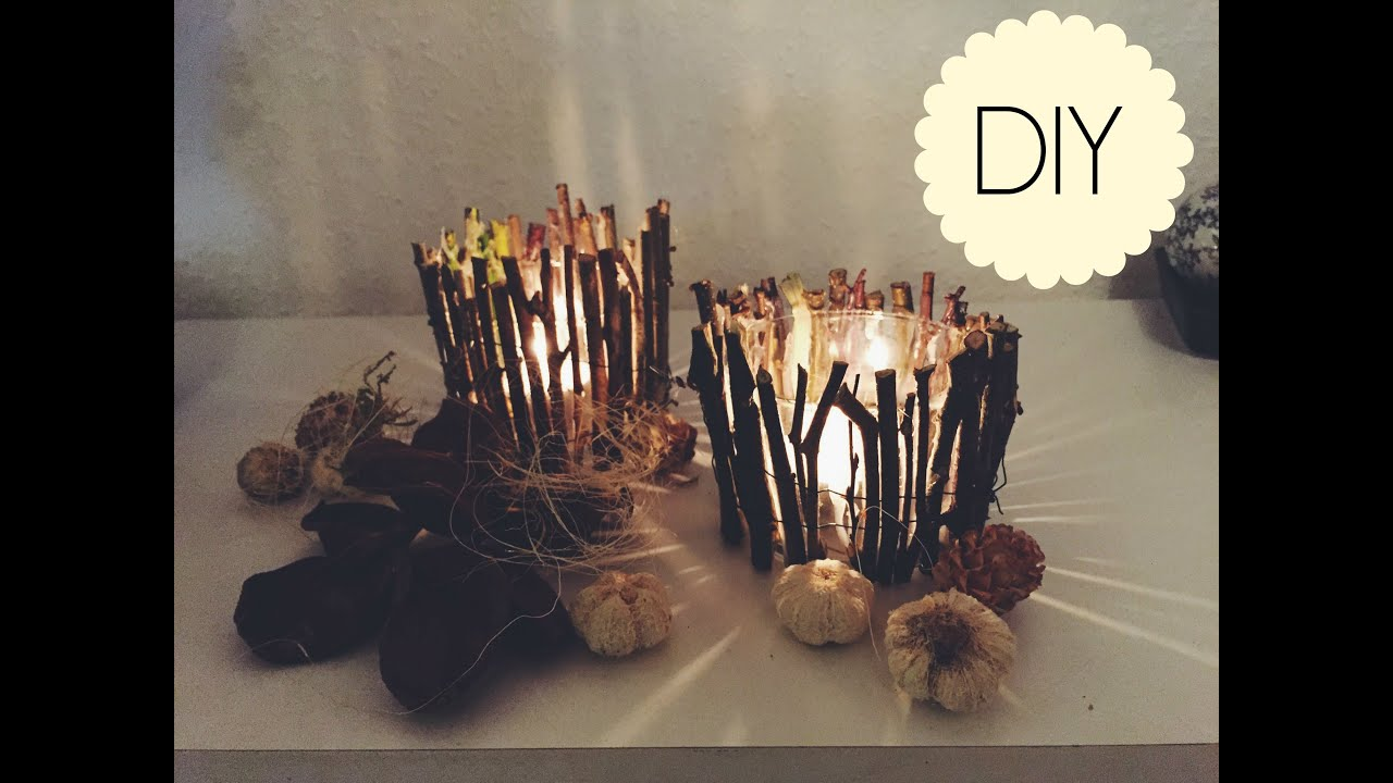 Diy wood candle holders youtube for Candle holders out of wood