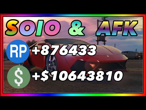 Create a SOLO AFK Money Survival (millions a day) GTA 5 Online