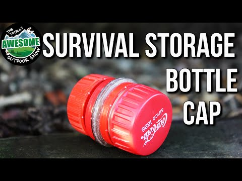 DIY Survival Container from Recycled Bottle Caps! | TA Outdoors