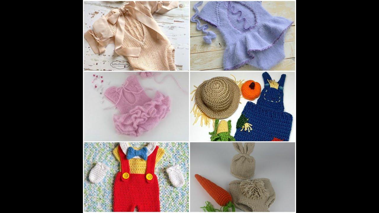 Örgü Yenidoğan Kostümleri Knit newborn costumes
