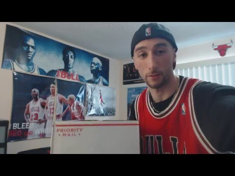 0528b620d56 Unboxing  Chicago Bulls New Era 59Fifty Hardwood Classics Leather Brim  Fitted Hat (1080p)