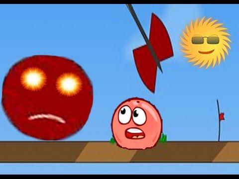 Red Ball - Красный Шарик. Смотреть ИГРУ как МУЛЬТИК для детей малышей [ФАНИК]