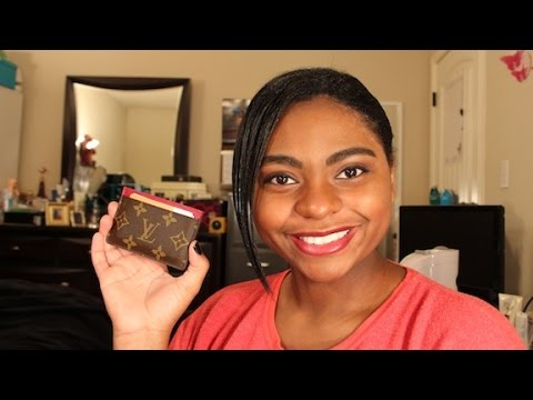review louis vuitton card holder youtube