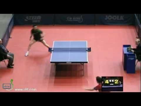 João Monteiro vs Simon Gauzy[Hungarian Open 2012]