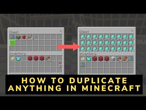 How to Duplicate Anything in Minecraft (Bedrock Edition)